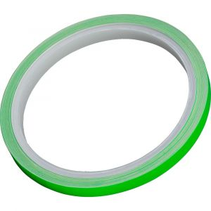 Hashiru Decorative Rim Strips Fluorescent 6 m x 7 mm Green - Green - Taille 6 m x 7 mm