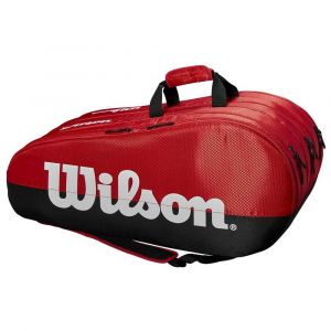Sacs raquettes Wilson Team - Black / Red - Taille One Size