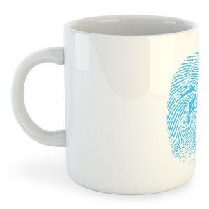 Tasses Kruskis Tasse Triathlon Fingerprint