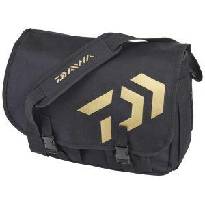 Daiwa Trout Messenger Bag One Size Black / Gold