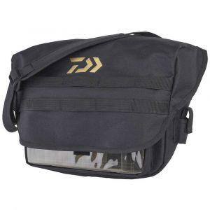 Daiwa Street Fishing Messenger Bag One Size Black / Gold
