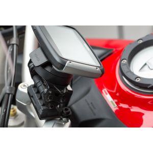 SW-Motech Support GPS QUICK-LOCK - Noir. Ducati Multistrada 1200 / ...