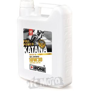 IPONE Full Power Katana 10W-30 4 Litres d'huile moteur