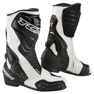 TCX S-Speed Racing Bottes de moto Noir Blanc 47