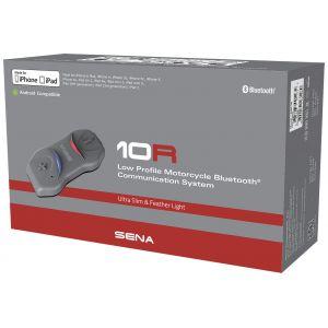 Sena 10R Bluetooth Communication System Single Pack Pack unique de ... Noir unique taille
