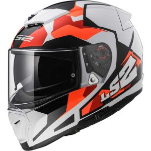 LS2 FF390 Breaker Sergent Casque Orange/Noir L (59/60)