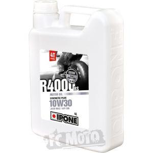 IPONE R 4000 RS 10W-30 4 Litres d'huile moteur