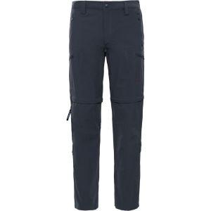 The North Face Exploration Convertible Jeans/Pantalons Gris foncé Court 50