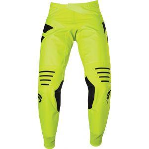 Shift 3Lack Label Race 2 Pantalon Motocross Noir Jaune 28