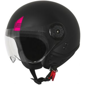Origine Neon Easy Casque jet Noir Rose M