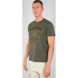 Alpha Industries Alpha FJ T-Shirt Vert S