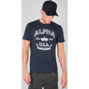 Alpha Industries Alpha FJ T-Shirt Bleu M