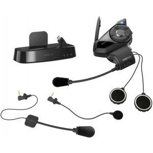 Sena 30K Pack unique système de Communication Bluetooth et Station ... Noir unique taille
