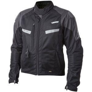 Helite Vented Sac à air Textile Jacket Noir 4XL