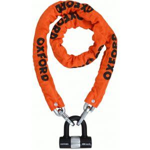 Oxford HD Loop Verrouillage de la chaîne Orange 150 cm