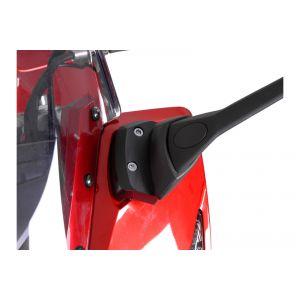 SW-Motech Extension de rétroviseur - Profile. Noir. Yamaha FZ1 Faze...