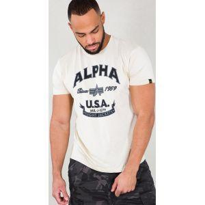 Alpha Industries Alpha FJ T-Shirt Beige S
