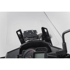 SW-Motech Support GPS pour cockpit - Noir. Kawasaki Versys 1000 (15...