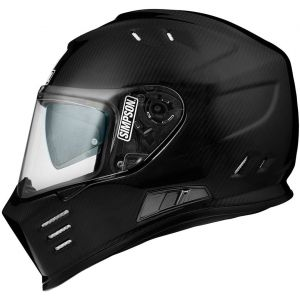 Simpson Venom Carbon Casque Carbone XS (53/54)