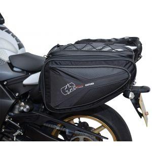 Oxford P60R Sac de selle de moto Noir 51-60l
