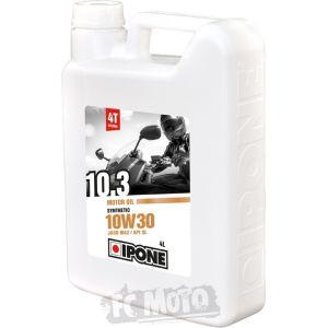 IPONE 10.3 10W-30 4 Litres d'huile moteur