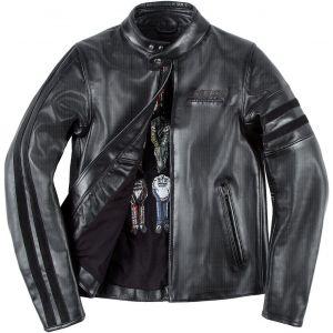 Dainese Freccia72 Veste en cuir de moto perforée Noir 58