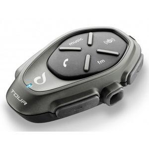 Interphone Tour Système de Communication Bluetooth Noir unique taille