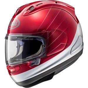 Arai RX-7V Honda CB Casque Rouge Argent S