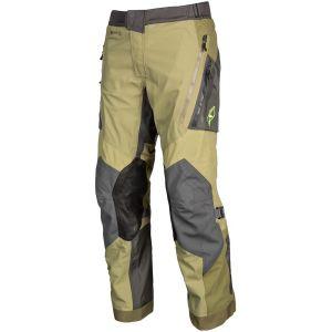Klim Badlands Pro Pantalon Textile moto Vert Jaune 38