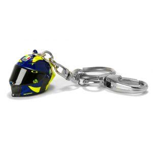 VR46 Sole E Luna 3D Porte-clés casque Bleu unique taille