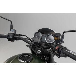 SW-Motech Support GPS pour cockpit - Noir. Kawasaki Z900RS/ Cafe (1...