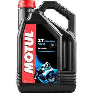 MOTUL 100 2T 4 litres d'huile moteur