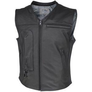 Helite Custom Veste en cuir Airbag Noir L