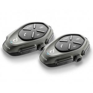 Interphone Tour Système de Communication Bluetooth - Pack Double Noir unique taille
