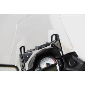 SW-Motech Support GPS pour cockpit - Noir. Kawasaki Versys 650 (15-).