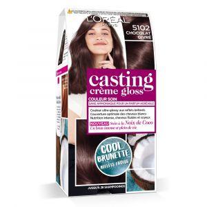 Casting Crème Gloss Cool Brunette Coloration Coloration Capillaire Non Permanente - Marron