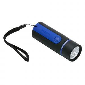 Lampe torche de bivouac à piles - ONBRIGHT 300 Rubber Bleue - 30 lumens - Forclaz