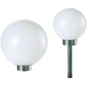 Boule lumineuse solaire pour jardin 20 cm - OSE