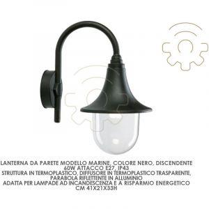 Applique marine line black colour large e27 447/06 - SOVIL