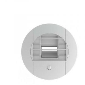 Bouche d'extration hygroréglable D80P 10-45/45 - BEHS/W.DP UNELVENT - 854036 Bouche alizé hygro Salle-de-Bains avec WC temporisée 15-45/45 m3/h à détection de présence