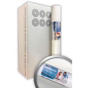 Intissé de rénovation revêtement non-tissé de lissage 150 g Profhome NormVlies 299-150 intissé à peindre professionnel | 6 rouleaux 112,5 m2 - E-DELUX