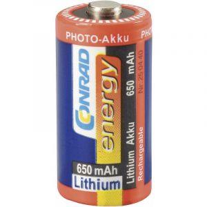 Accu au lithium CR123, accu photo RCR123, 3 V(Ø x h) 17 mm x 34 mm - CONRAD ENERGY