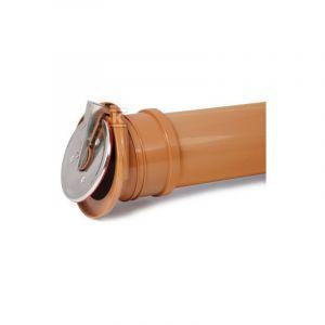 110mm Polypropylène Fin Clapet Auto-Activant Drainage - KARMAT