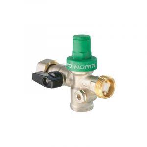 Bloc Réducteur de pression Pronorm 3 en 1 écrou tournant 20/27 Mâle 20/27 - GENERIC