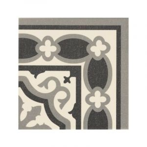 Série Florentine white 20x20 angle - MANUFACTURA INDUSTRIAL AZULEJERA