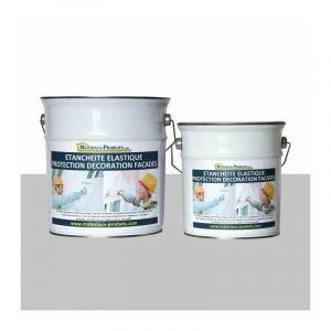 Peinture Etanche & Elastique Pour Protection Façade Gris Perle - 36 Kg Gris perle - MATPRO