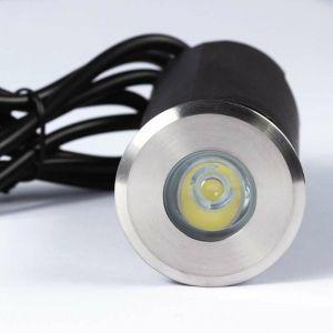 Spot LED extérieur à enterrer 1,5W (20W) DC12V - Lumière Bleue