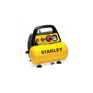 COMPRESSEUR STANLEY 6L 1,5 HP SANS HUILEPRESSION MAXI 8 BAR - MECAFER
