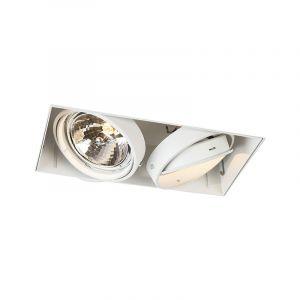 Spot encastrable blanc AR111 - Oneon 111-2 Trimless Qazqa Moderne Luminaire interieur