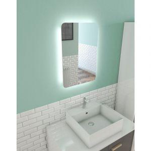 Miroir salle de bain LED auto-éclairant ATMOSPHERE 40x60cm - AURLANE